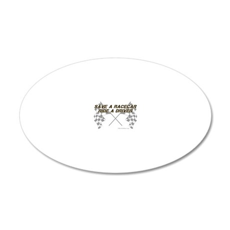 saveca5 20x12 Oval Wall Decal