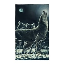 Winter Wolves Rug (36x60)