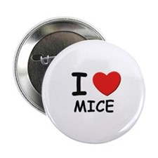 I love mice Button