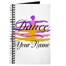 Dance Customizeable Journal