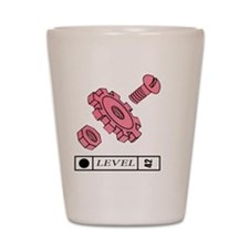 L42 WorldMachin86 front Shot Glass