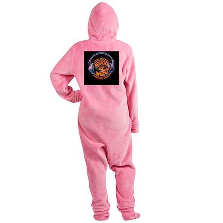 2009 Stax Logo 2400x2400 Footed Pajamas