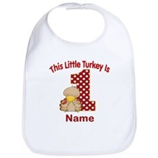 1st Birthday Turkey Bib