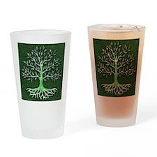 Verd Haitian Relief Tree Drinking Glass