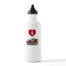 ilovehorseracingtran Water Bottle