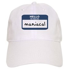 Feeling maniacal Baseball Cap