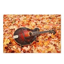 Fall_Leaves_Travel_Mug Postcards (Package of 8)