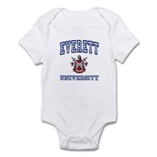 EVERETT University Onesie