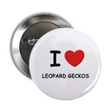 I love leopard geckos Button