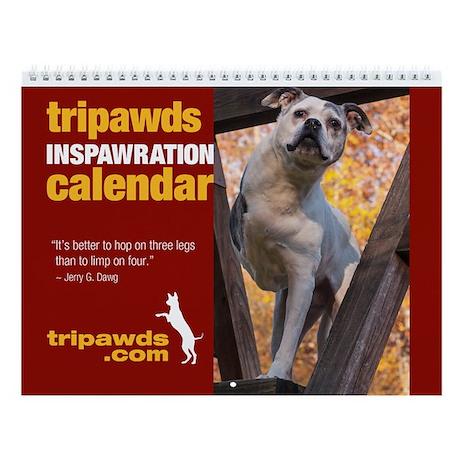 2014 Tripawds Calendar Design