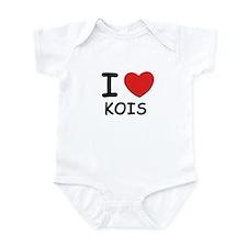 I love kois Infant Bodysuit