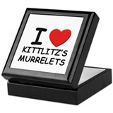 I love kittlitz's murrelets Keepsake Box