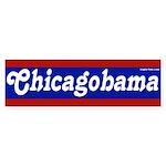 Chicagobama Bumper Sticker