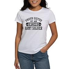 Proud Army Sister Tee