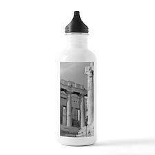 acropolis_print_BW Water Bottle