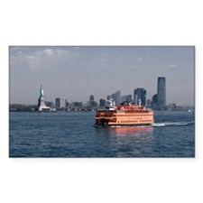 (6) Staten Island Ferry Decal