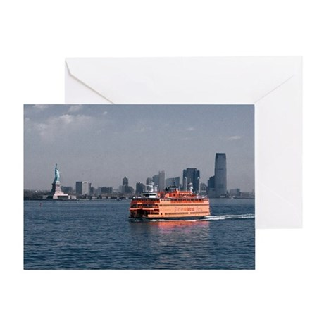 (6) Staten Island Ferry Greeting Card