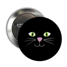 "'Black Cat' 2.25"" Button"