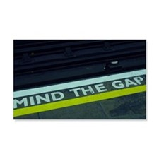Mind the Gap Wall Decal
