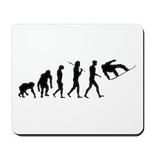 Evolution Snowboard Mousepad