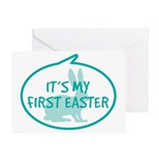 Babys First Easter Greeting Card