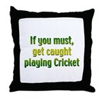 Cricket Throw Pillow