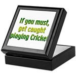 Cricket Keepsake Box