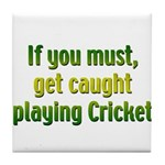 Cricket Tile Coaster