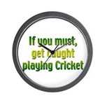 Cricket Wall Clock