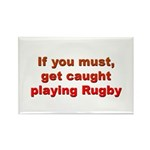 Rugby Rectangle Magnet (10 pack)