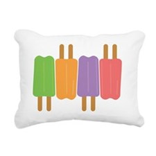 popsicles Rectangular Canvas Pillow