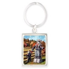 FallOuting Portrait Keychain