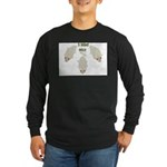 """3 Blind Mice"" Long Sleeve Dark T-Shirt"