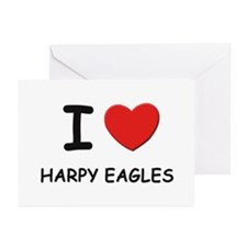I love harpy eagles Greeting Cards (Pk of 10)