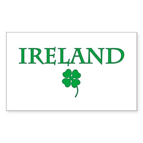 Ireland Rectangle Sticker