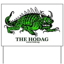 Hodag New Shirt Logo Yard Sign