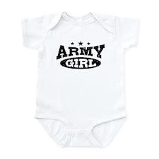 Army Girl Infant Bodysuit