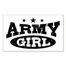 Army Girl Decal