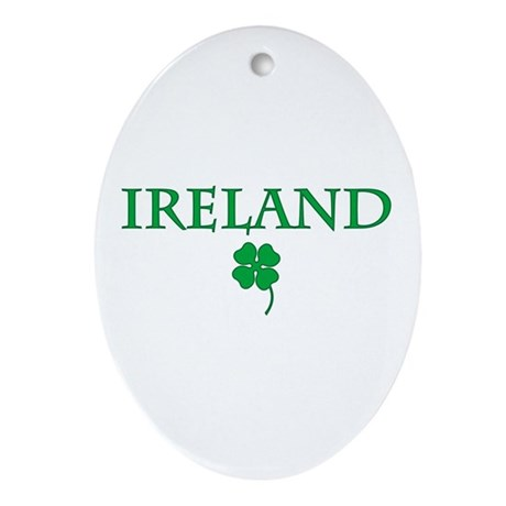 Ireland Oval Ornament