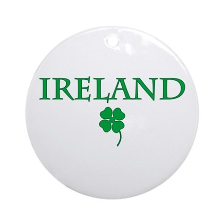 Ireland Ornament (Round)