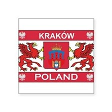 Krakow Rectangle Sticker