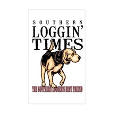 Logger's Best Friend Rectangle Decal