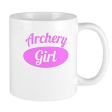 Archery Girl Mugs