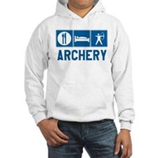 Eat Sleep Archery Hoodie Sweatshirt