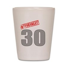 officially_30 Shot Glass