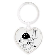 bowl movement Heart Keychain