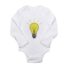 Bright Idea Light Bul Body Suit