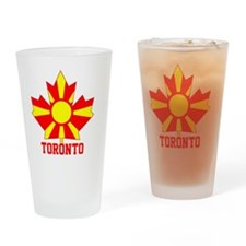 Macedonia Toronto Leaf Drinking Glass