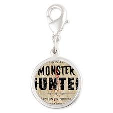 monsterhunter_mousepad Silver Round Charm