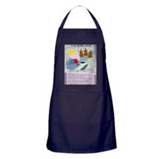 old king cole Apron (dark)